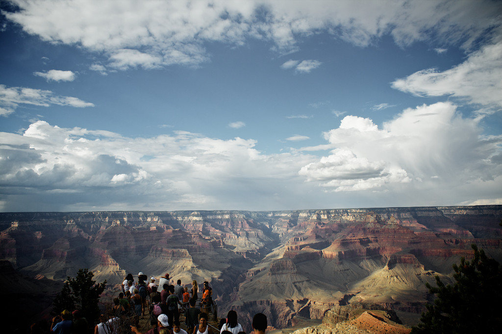 My picture to people taking photos of the Gran Canyon